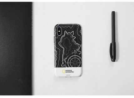 NATIONAL GEOGRAPHIC スマホケース・テックアクセサリー iPhone X ケース Topography Case Double Protective 2色(4)