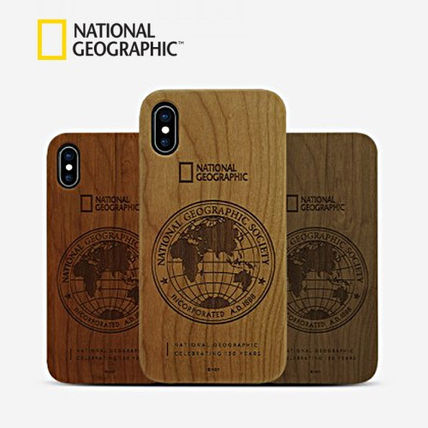 NATIONAL GEOGRAPHIC スマホケース・テックアクセサリー iPhone XS/X/XR/XS Max 130th Anniversary case Nature Wood 3色