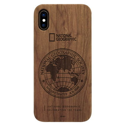 NATIONAL GEOGRAPHIC スマホケース・テックアクセサリー iPhone XS/X/XR/XS Max 130th Anniversary case Nature Wood 3色(2)