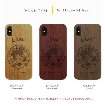 NATIONAL GEOGRAPHIC スマホケース・テックアクセサリー iPhone XS/X/XR/XS Max 130th Anniversary case Nature Wood 3色(5)