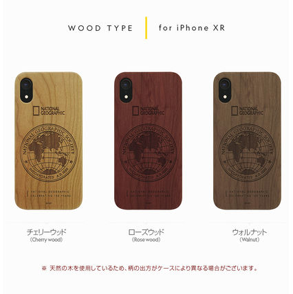 NATIONAL GEOGRAPHIC スマホケース・テックアクセサリー iPhone XS/X/XR/XS Max 130th Anniversary case Nature Wood 3色(6)