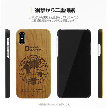 NATIONAL GEOGRAPHIC スマホケース・テックアクセサリー iPhone XS/X/XR/XS Max 130th Anniversary case Nature Wood 3色(7)