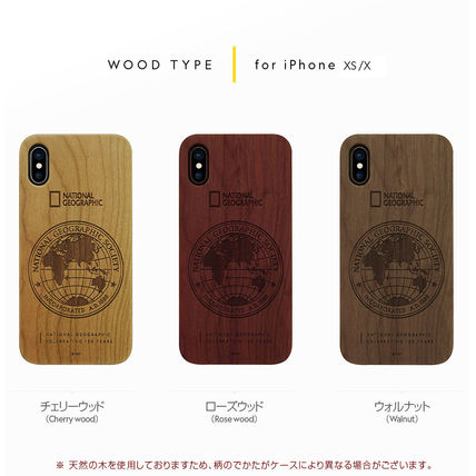NATIONAL GEOGRAPHIC スマホケース・テックアクセサリー iPhone XS/X/XR/XS Max 130th Anniversary case Nature Wood 3色(8)