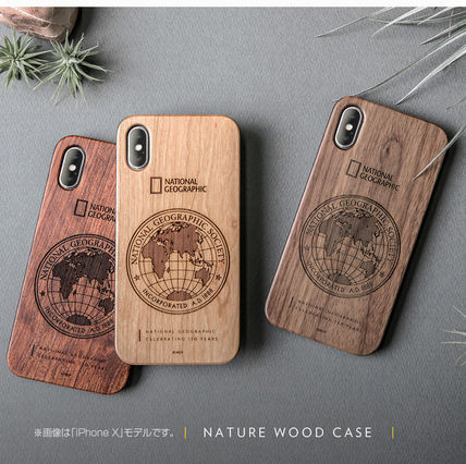 NATIONAL GEOGRAPHIC スマホケース・テックアクセサリー iPhone XS/X/XR/XS Max 130th Anniversary case Nature Wood 3色(9)