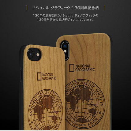 NATIONAL GEOGRAPHIC スマホケース・テックアクセサリー iPhone XS/X/XR/XS Max 130th Anniversary case Nature Wood 3色(13)