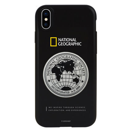 NATIONAL GEOGRAPHIC スマホケース・テックアクセサリー iPhone XS/X/XR/XS Max ケース Global Seal Metal-Deco Case 5色(2)