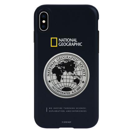 NATIONAL GEOGRAPHIC スマホケース・テックアクセサリー iPhone XS/X/XR/XS Max ケース Global Seal Metal-Deco Case 5色(3)