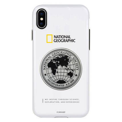 NATIONAL GEOGRAPHIC スマホケース・テックアクセサリー iPhone XS/X/XR/XS Max ケース Global Seal Metal-Deco Case 5色(5)