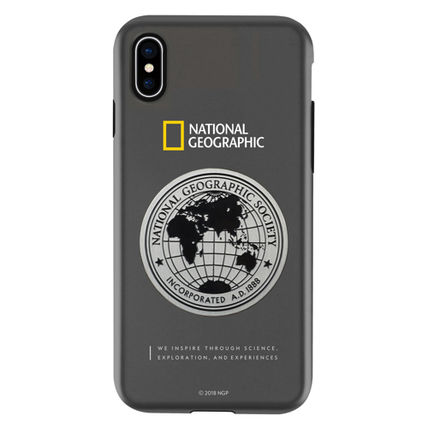 NATIONAL GEOGRAPHIC スマホケース・テックアクセサリー iPhone XS/X/XR/XS Max ケース Global Seal Metal-Deco Case 5色(6)