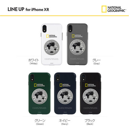 NATIONAL GEOGRAPHIC スマホケース・テックアクセサリー iPhone XS/X/XR/XS Max ケース Global Seal Metal-Deco Case 5色(7)