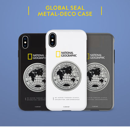 NATIONAL GEOGRAPHIC スマホケース・テックアクセサリー iPhone XS/X/XR/XS Max ケース Global Seal Metal-Deco Case 5色(13)