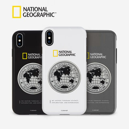 NATIONAL GEOGRAPHIC スマホケース・テックアクセサリー iPhone XS/X/XR/XS Max ケース Global Seal Metal-Deco Case 5色(14)