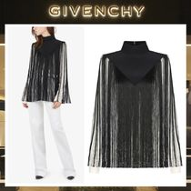 18AW GIVENCHY ☆ ロングフリンジ クレープデシン トップス