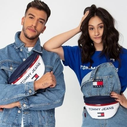 TOMMY JEANS*ロゴ入りボディバッグ*ユニセックス*関送込