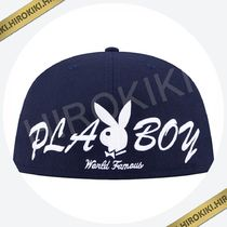 【7-1/8】Supreme PlayBoy Box Logo New Era Cap ニューエラ  紺