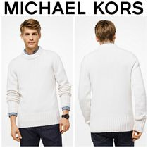 【MICHAEL KORS】☆18-19AW新作☆ Cashmere Pullover