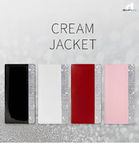 iPhone XS/X/XR ケース DreamPlus Cream Jacket 手帳型 本革