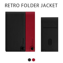 iPhone XS/X/XR DreamPlus RETRO FOLDER JACKET 手帳型 縦開き
