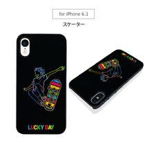 iPhone XS/X/XR Dparks Twinkle Case スケーター ホログラム