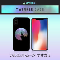 iPhone XS/X/XRケース Dparks Twinkle Case シルエットムーン