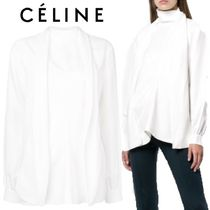 【18AW】★CELINE★scarf detail blouse