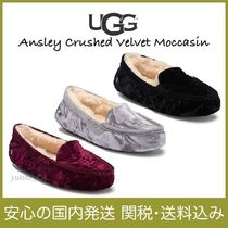 【国内発送】Ansley Crushed Velvet Moccasin セール