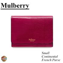 マルベリー☆Small Continental French Purse☆ ピンク☆ 新色☆