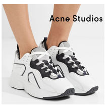 ACNE STUDIOS★18AW Manhattanスニーカー_ホワイト
