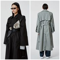 more than dope(モアザンドープ) トレンチコート 日本未入荷more than dopeのButton trench 全2色