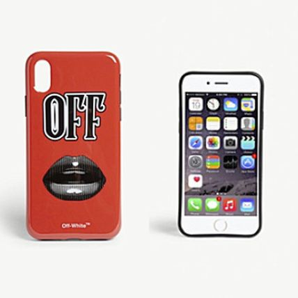 国内発送!Off-White Lips iPhone X ケース