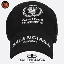 *BALENCIAGA* World Food Programmeコットンcap 関送込!!