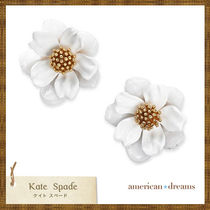SALE! kate spade 華やか お花モチーフピアス WHITE