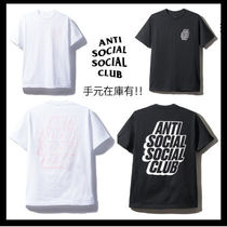 【希少】Anti Social Social Club/Blocked ロゴ Tee【送関込】