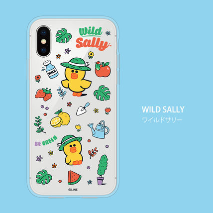 LINE FRIENDS スマホケース・テックアクセサリー iPhone X クリアケース LINE FRIENDS MY FAVORITE THINGS(5)