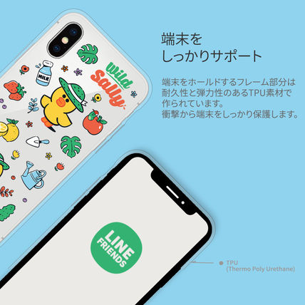 LINE FRIENDS スマホケース・テックアクセサリー iPhone X クリアケース LINE FRIENDS MY FAVORITE THINGS(7)
