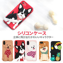 iPhone X ケース Design Skin WITTY LOOK カバー ソフトケース