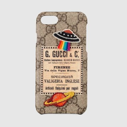 GUCCI スマホケース・テックアクセサリー 新作★GUCCI(グッチ)Gucci Courrier iPhone 8 case 各色