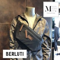【BERLUTI】Complice ナイロン クロスボディバッグ◆追跡付き