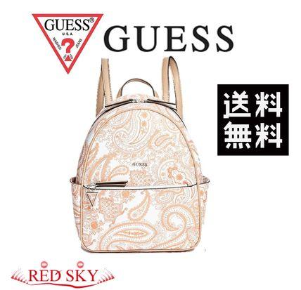 Guess バックパック・リュック 【Guess(ゲス)】EVANS PRINTED BACKPACK☆エバンスバックパック