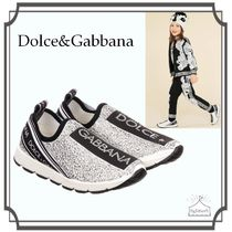 Dolce&Gabbana☆Girls Silver SORRENTO スニーカー