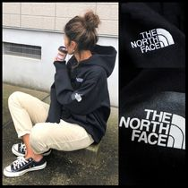 国内発送★THE NORTH FACE MEN'S SQUARE LOGO HOODIE★BLACK