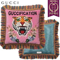 【正規品保証】GUCCI★18秋冬★GUCCIFICATION STITCH PILLOW