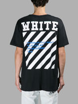OFF WHITE 16SS DIAG BLUE COLLAR S/S T-SHIRT