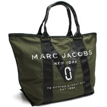 19ac7c57e6690  Marc Jacobs M0011223 Logo Tote Bag☆Army Green☆トート