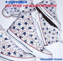 限定 大人【CONVERSE】ALL STAR 100 MANYPATCH HI メニーパッチ