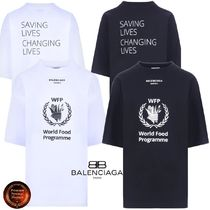 BALENCIAGA* World Food ProgrammeジャージーTシャツ 関送込!!