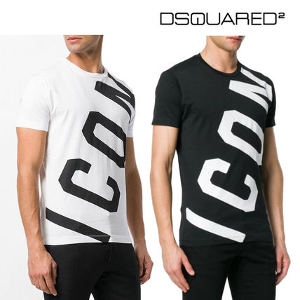 D SQUARED 2★S74GD0414 ロゴプリント・半袖Tシャツ