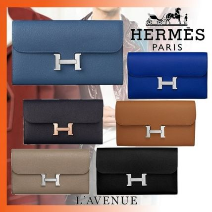 HERMES 長財布 18FW エルメス Portefeuille Constance long 長財布 6色