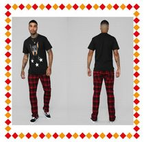 FASHION NOVA(ファッションノバ) パンツ 【関税・送料込】FASHION NOVA Joe Flannel Trouser Pant - Red