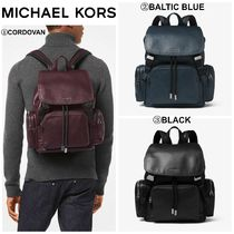 【MICHAEL KORS】☆18-19AW新作☆ Henry Leather Backpack